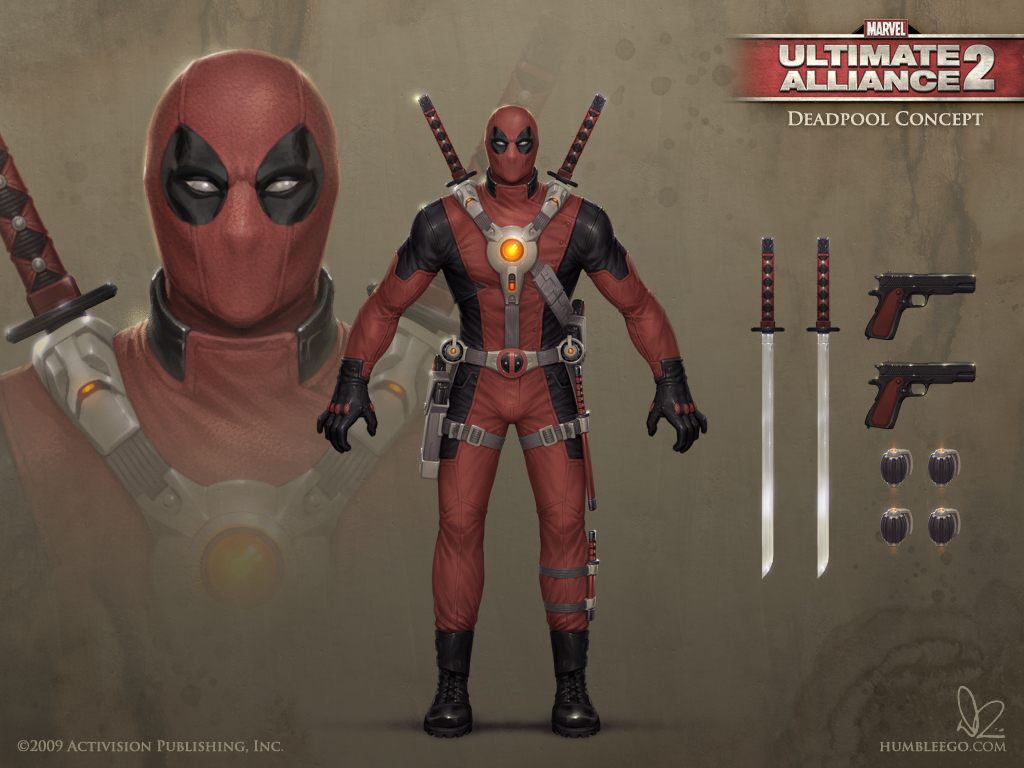 Deadpool Ultimate Alliance Costumes | www.pixshark.com ...
