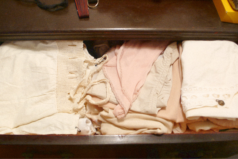 delicates drawer