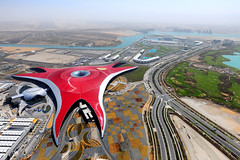 Ferrari World Abu Dhabi (Aziz J.Hayat   ) Tags: world red magazine island hotel gulf arabic abu dhabi aziz yas hayat ferarri       shehe           jhayat   yaqaza