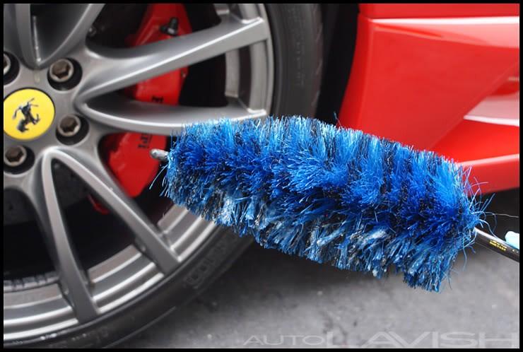 ferrari wheel cleaning ez detail brush