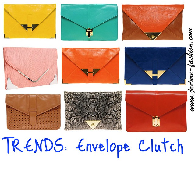 TREND- Envelope Clutch