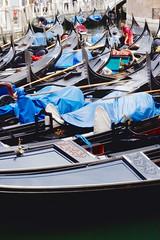 Gondolas in Venice (Lazenby43) Tags: venice italy gondola venezia rialto burano sanmarco