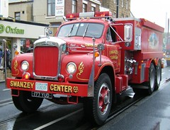 Vintage HGV - Mack B61 Thermodyne (rossendale2016) Tags: hgv vintage red tanker swansey swanzey wales swansea south