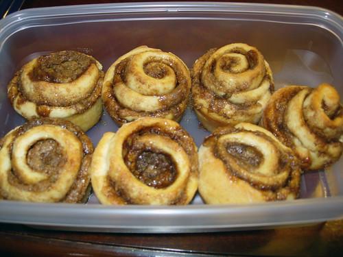 mmm cinnamon rolls
