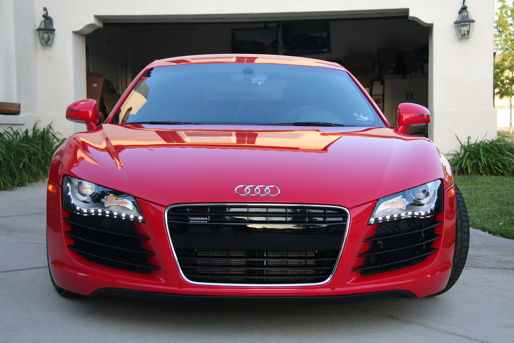 Thread Concours Finish Detailed Audi R8 Audi's answer the BMW's Angel Eyes