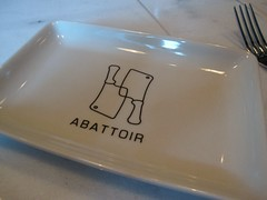 abattoir chophouse - the side plate
