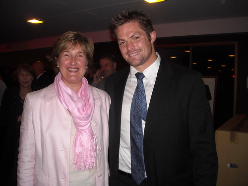 Gill and Richie McCaw by Don Ledingham