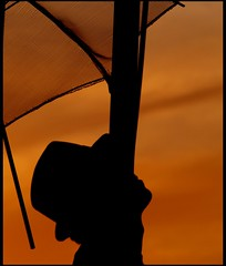 orange umbrella (maios) Tags: travel sky orange color water hat umbrella greek photo europa flickr photographer hellas greece macedonia thessaloniki fotografia salonica manikis maios iosif  heliography        lefteriszopidis       saariysqualitypictures    iosifmanikis