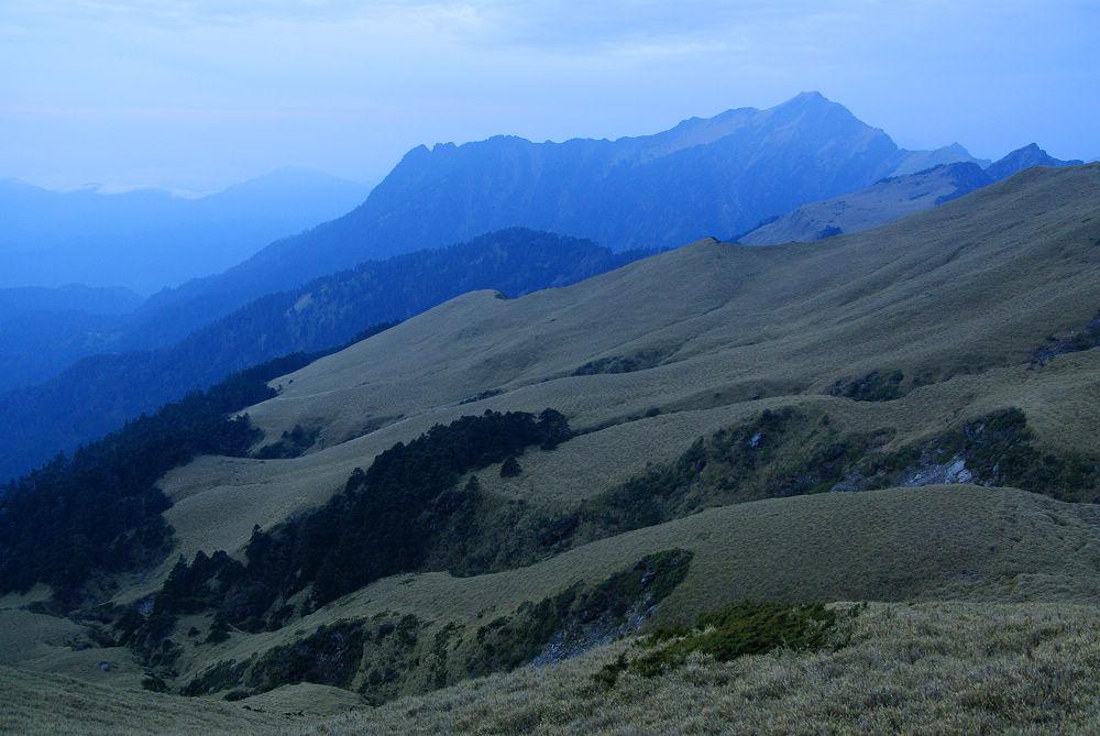 奇萊Day3-05 藍色主峰