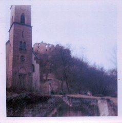 Frankenstein church and castle