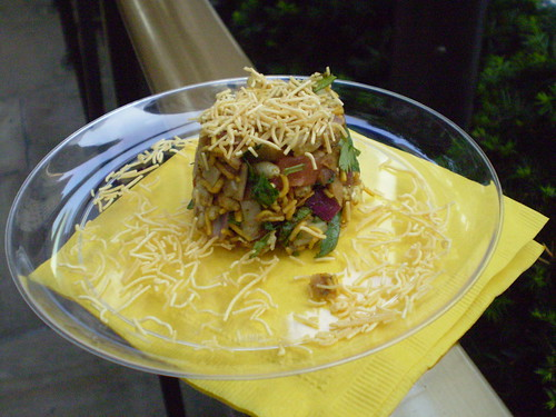 Bhel Poori at the Devi booth