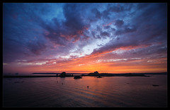 Jersey Sunset (Edd Noble) Tags: sunset ferry nikon jersey condor nikkor f28 d3 francetoengland 1424mm 1424mmf28g