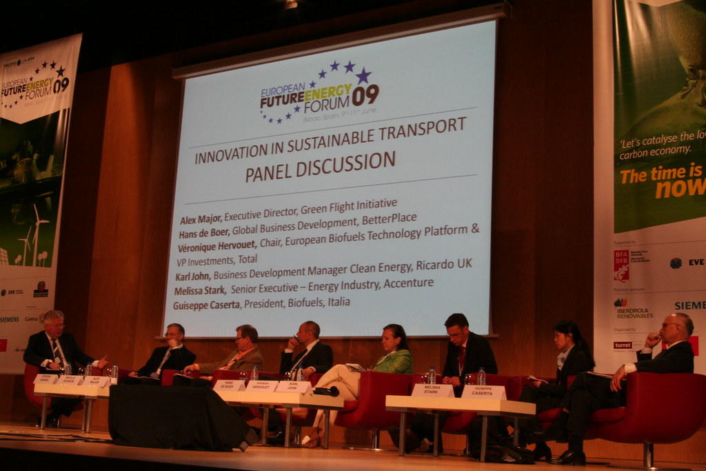 Innovation in Sustainable Transport panel at European Future Energy Forum