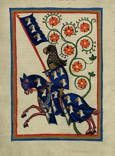 009 - Hartmann de Aue-Codex Manesse