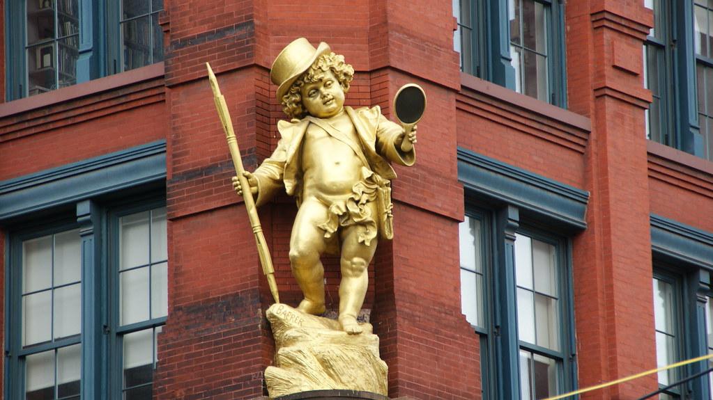 The Cherub of Hudson Street...