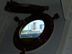 Waverley - water level porthole!
