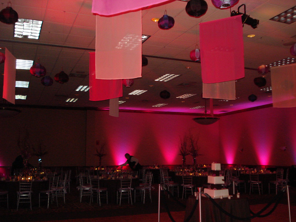 floor centerpieces dance diy pavilion at champagne pin and over wedding the wyche hanging floors outdoor blush