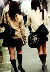 新宿の女子高生