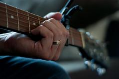 Wonderwall - 13/365 (Wahlander) Tags: 50mm bokeh guitar ring oasis capo chord wonderwall 50mmf18 d90 em7 project365