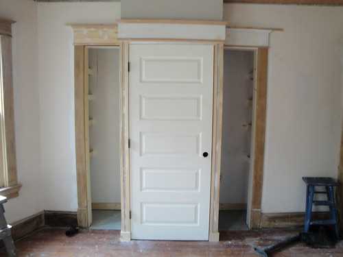 During - Master Bedroom - Closet w/Trim
