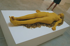 Vanessa Beecroft, Blonde Figure Lying, 2008 (16 Miles of String) Tags: sleeping summer sculpture newyork art yellow hair chelsea gallery group exhibition read installation figure blonde lying 2008 beecroft cheimread groupshow thefemalegaze vanessabeecroft femalegaze cheim cheimandread thefemalegazewomenlookingatwomen blondefigurelying artcat9778