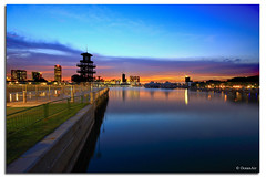 Moody (OceanAir55) Tags: park blue river evening singapore dusk kallang platinumphoto anawesomeshot oceanair55