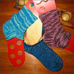 Socks in progress...