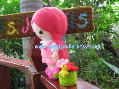 Jazzy doll (K and J Dolls) Tags: girl doll pattern crochet nia amigurumi fille mdchen basteln haken gancho croch hkeln virka ganchillo anleitungen hkelanleitung amigurumigirl
