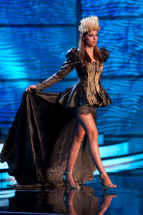 Traje Típico de Miss Serbia