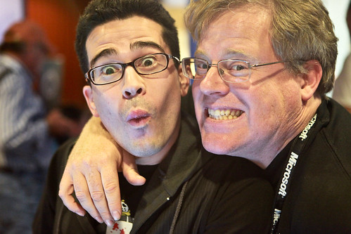 Chris Pirillo and Robert Scoble - Gnomedex 2009