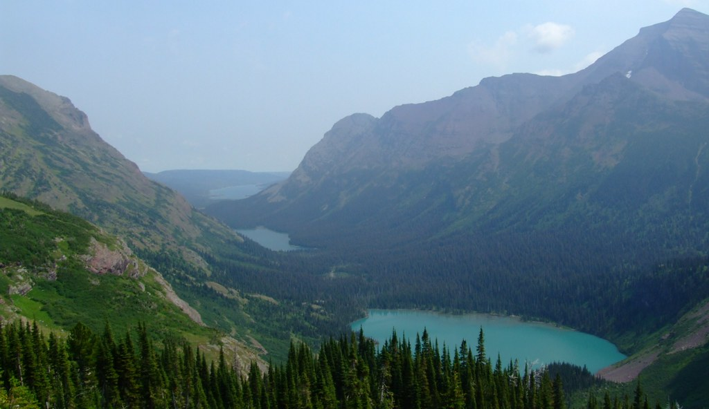 Swiftcurrent Lake, Lake Josephine and Grinnell Lake