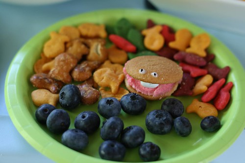 mermaid snack platter