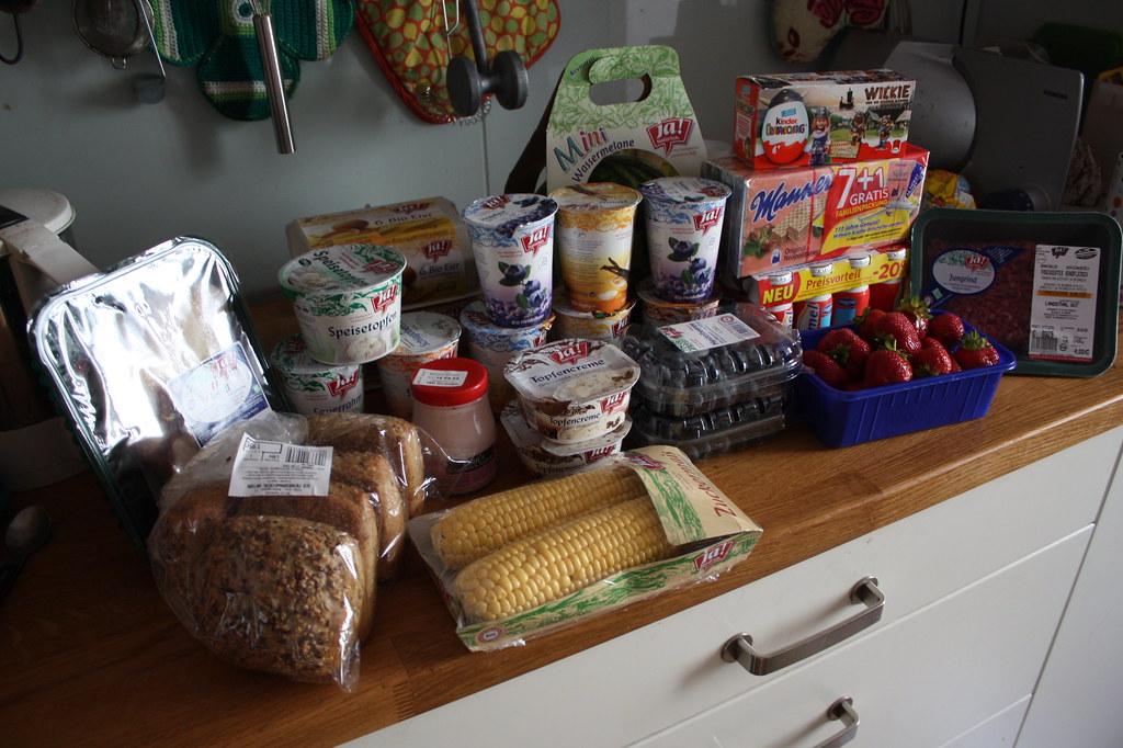 Wieder mal ausgehungert einkaufen gegangen