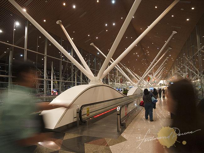 Kuala Lumpur International Airport arrival hall