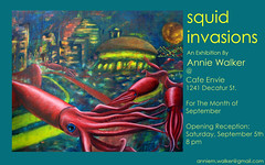 Fwd: Squid Invasions, this Saturday!!