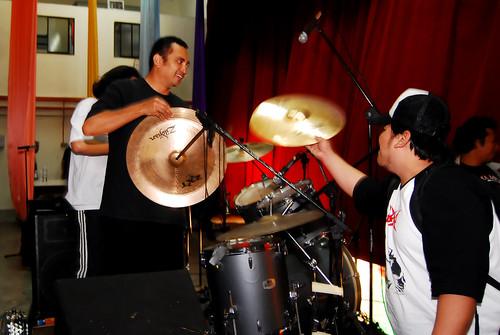 drum setup -lan n adjeez