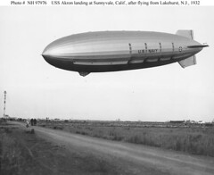 USS Akron Approaching Mooring (lazzo51) Tags: aviation science usnavy blimps airships zeppelins luftschiff dirigibles ussakron zrs4
