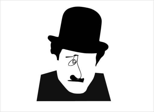Noma Bar Charles Chaplin