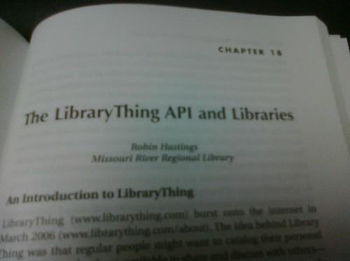 My chapter in the new Library Mashups book