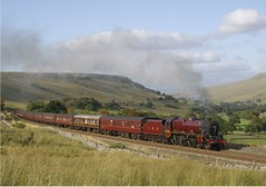 Steamin On The Fells, Man (Richie B.) Tags: jubilee class steam line special cumbria summit gill carlisle ais settle leander lms the hauled 5690 5xp fellsman