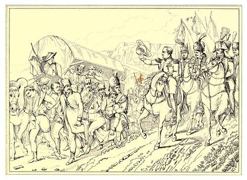 016-Napoleon saluda a los heridos enemigos-The Napoleon gallery 1846