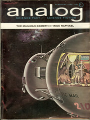 Analog Magazine - February 1965 - Prophet of Dune part 2 of 5 - cover by Walter Hortens (Cadwalader Ringgold) Tags: sf analog magazine dune herbert
