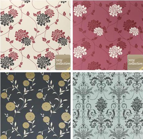 Design Evolution Laura Ashley Wallpaper