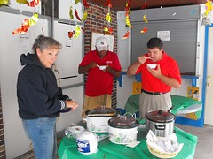 chili cook off tasting