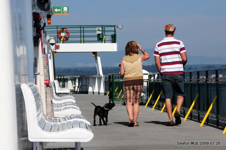 10. 摆渡上的邂后  Kingston ferry - Sea Fun, 5岁  - 稀饭 喜欢 Sea Fun