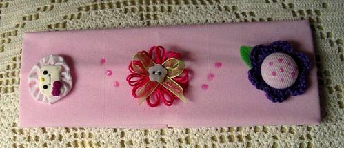Faixa de cabelo rosa da Hello Kitty - Ref.22/09