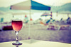 ~Wine is sunlight, held together by water.~ (Pink Pixel Photography (f.k.a. Sunny)) Tags: beach bokeh canonef50mmf18 crete niftyfifty hbw canoneos400d wwwpinkpixelat pinkpixelphotography wineandsunsetisthereanythingbetter theresnothingbetterthanspendingtheeveningatthebeach