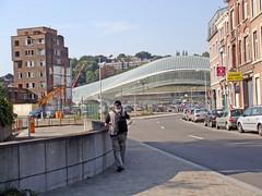 An Alien! (Antropoturista) Tags: station belgium gare alien planning calatrava urbanism luik liège lüttich guillemin urbancontext civicdesign