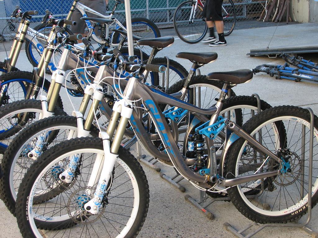 Big Row of Big Bikes