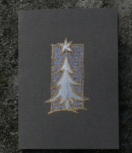 grey/gold christmas